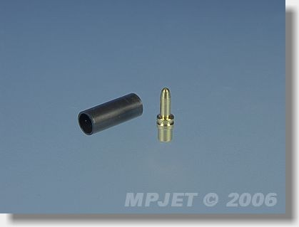 Connectors MP JET gold 1,8 mm dia - pin