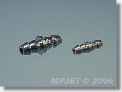 Fuel tube coupler small