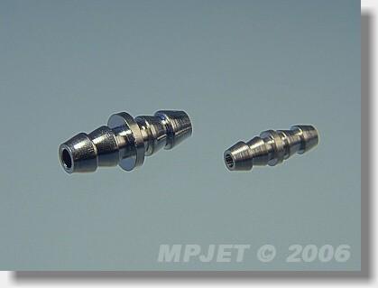 Fuel tube coupler large