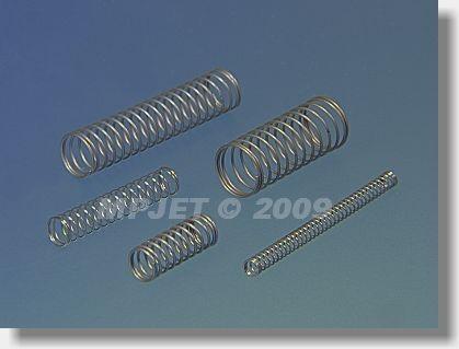 Compression spring wire 0,3, dia 4 mm - set