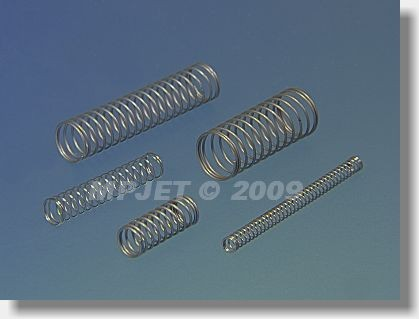 Compression spring wire 0,3, dia 4 mm, length 15 mm
