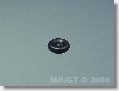 Tail wheel 10 mm dia