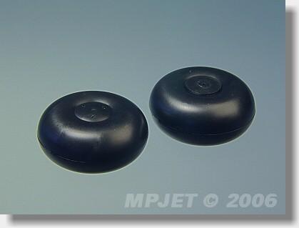 "Plastic wheel  ""PIPER"" type30 mm"