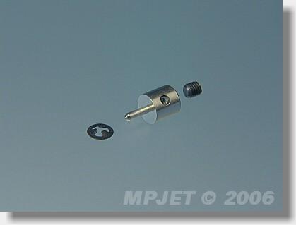 Screw-lock pushrod connector Snap 1,5 mm dia