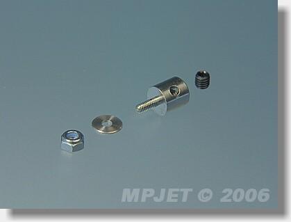 Screw-lock pushrod connector M2,5