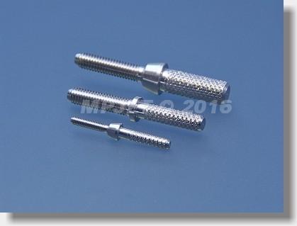 Inner threaded coupler for carbon tube 5x1, M2,5