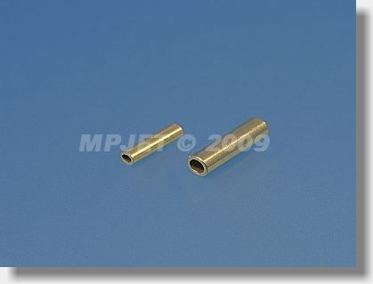 Press fitting for steel cable 1 mm dia