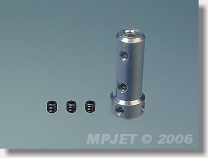 Body for double wheel landing gear 3 mm dia