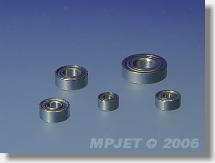 Ball bearing MR 115ZZ (5x11x4)