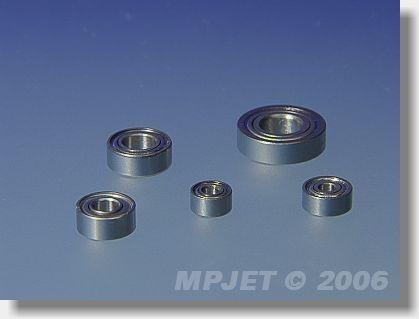 Ball bearing MR 62ZZ (2x6x2,5)