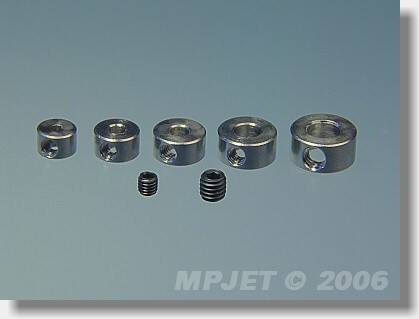 Brass wheel collar 2,5 mm