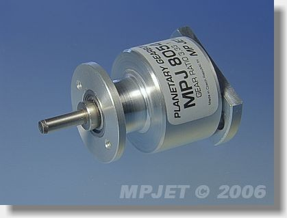 Planetary gearbox 3,33:1 for Sagami 650