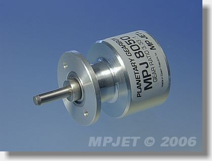 Planetary gearbox 3,33:1 for Speed 400