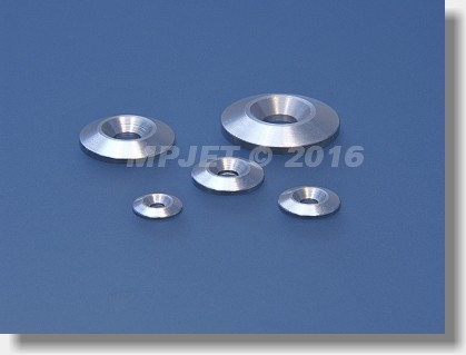 Countersunk washer large for M2 screw
