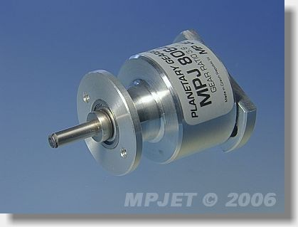 Planetary gearbox 3,8:1 for Sagami 650