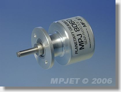 Planetary gearbox 3,8:1 for Speed 400