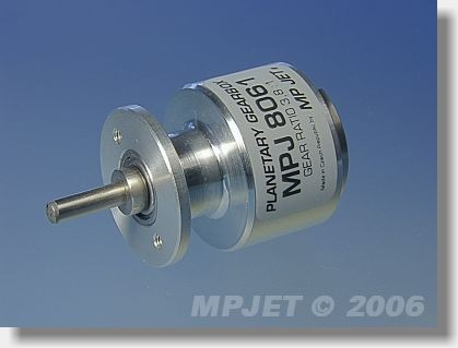 Planetary gearbox 3,8:1 for Speed 480