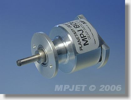 Planetary gearbox 3,8:1 for Speed 500,600