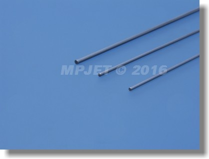 Stainless steel pushrod 2,6 mm dia, length 290 mm