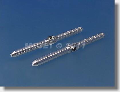 Pin type hinge Al, 4,5x70 mm, demountable