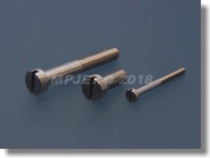 Aluminium Cheesehead screw M3x12