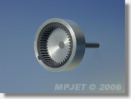 Main gear with shaft for 500-650, MPJ 8210 - spare part