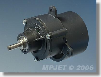 """Gearbox """"500-650"""" BB 2,8:1, pinion wheel 3,2 mm dia"""