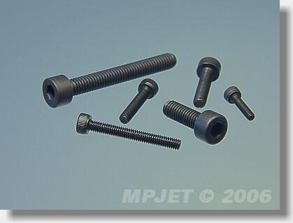 Socket head screw M2,5x8