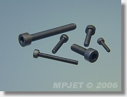 Socket head screw M2x6