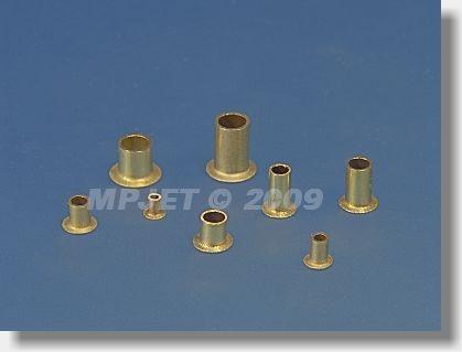 Tubular rivet 2,5x0,3x5