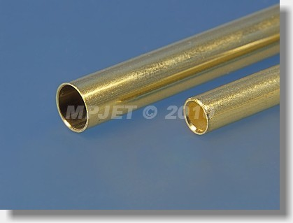 Brass tube 8x0,5 mm
