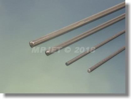 Stainless steel 3 mm dia, length 1 m