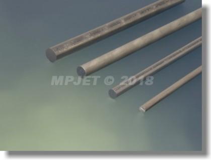 Aluminium alloy 6 mm dia, length 1 m