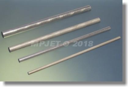 Aluminium alloy 25 mm dia, length 100 mm