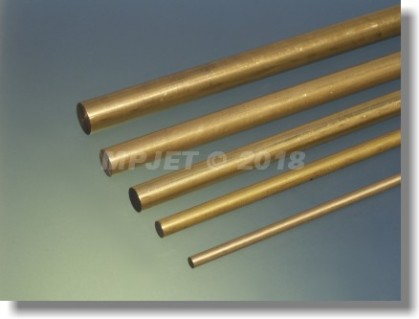 Brass 11 mm dia, length 1 m
