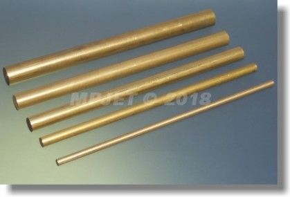Brass 10 mm dia, length 150 mm