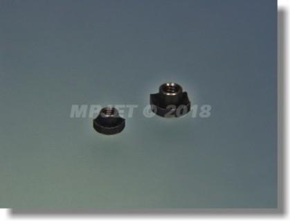 Machined hexagonal blind nut M3