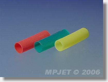 Shrinking tubes 4,8/2,4 (for MP JET connectors gold 2,5...