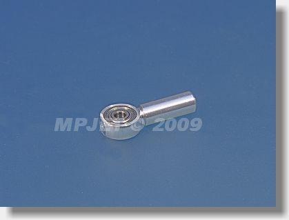 Aluminium coupler M4/3 with ball bearing