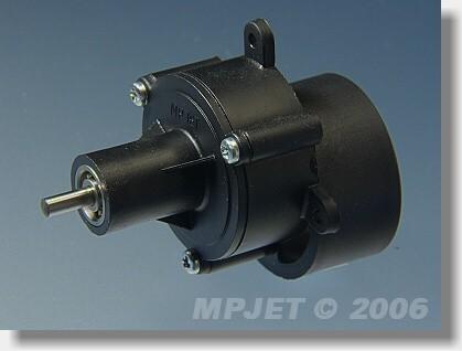 """Gearbox  """"480"""" BB 3:1, pinion wheel 3,2 mm dia"""