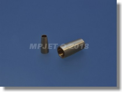 Brass ball bearing adapter outer - for tube OD Ø 4 and...