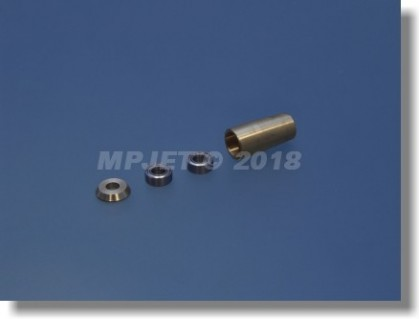 Brass ball bearing adapter outer - for tube with outer...
