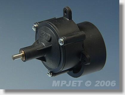 "Gearbox  ""480"" STD 3:1, pinion wheel 3,2 mm dia"