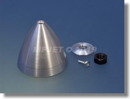 Blank metal spinner D40