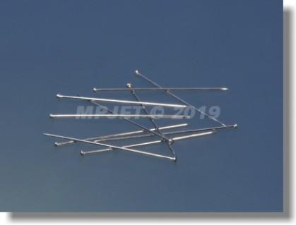 Hardened steel pin diameter 0,5x30x1,35 mm