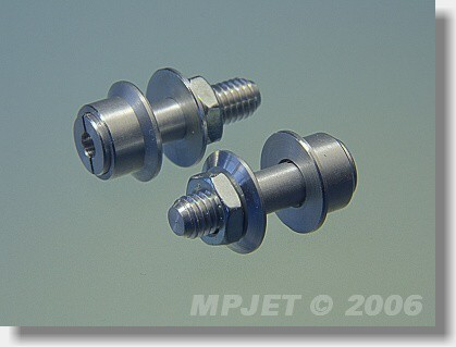 Collet prop adapter 12 mm, 3 mm shaft, M5/22-standard