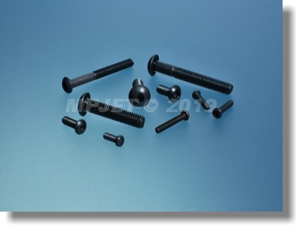 Hex socket button head cap screw M2x12