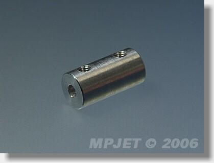 Direct shaft coupler 3/3, 9 mm OD