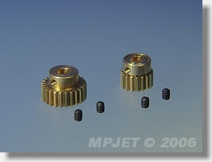 Pinion wheel 33 teeth, 3 mm dia, module 0,4