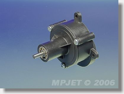 Gearbox BB 4,1:1 for AC 25/35, pinion wheel 3 mm dia